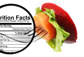 Food zoom - nutrition facts calculator