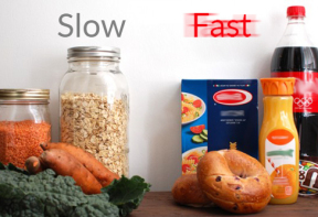 Slow and fast carbs