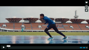 Miniature for Asics commercial featuring JB